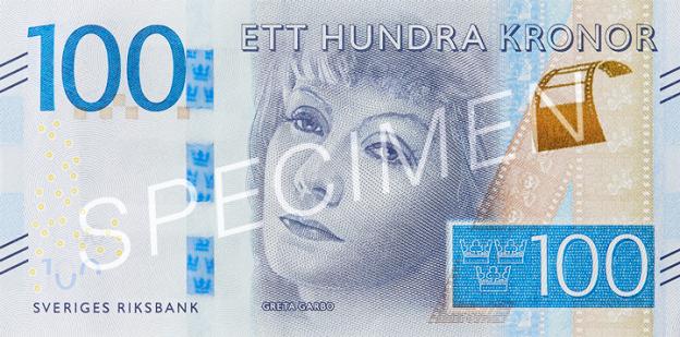 SEK awers korony szwedzkiej (waluty Szwecji)