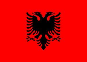 Jaka waluta w Albanii – flaga Albanii