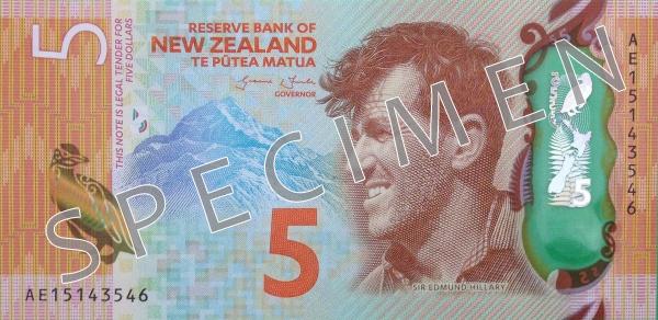 NZD awers dolara nowozelandzkiego (waluty Nowej Zelandii)
