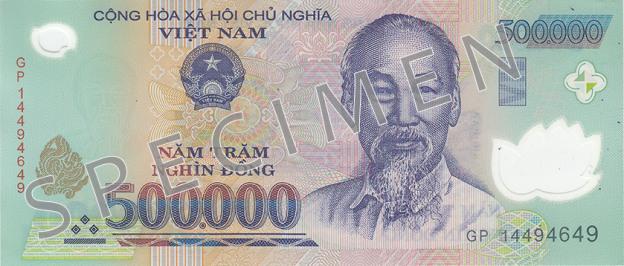 VND awers donga wietnamskiego (waluty Wietnamu)
