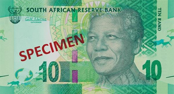 RPA waluta – rand południowoafrykański (rewers)