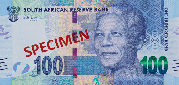 ZAR rewers randa południowoafrykańskiego (waluty RPA)