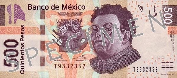 Meksyk waluta – peso meksykańskie (rewers)