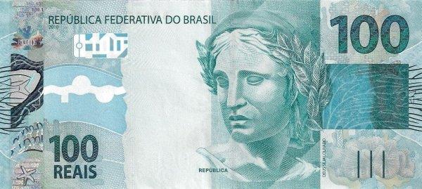 Real brazylijski BRL – waluta Brazylii (awers)