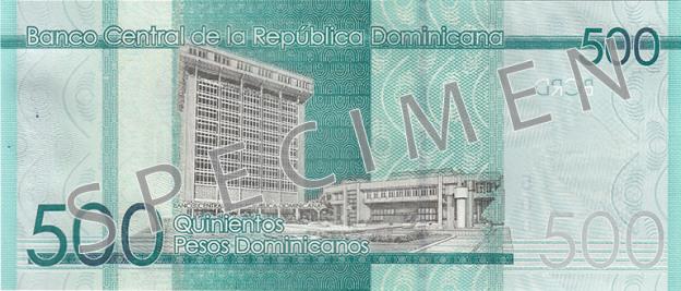 DOP rewers peso dominikańskiego (waluty Dominikany)