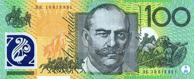 AUD awers dolara australijskiego (waluty Australii)