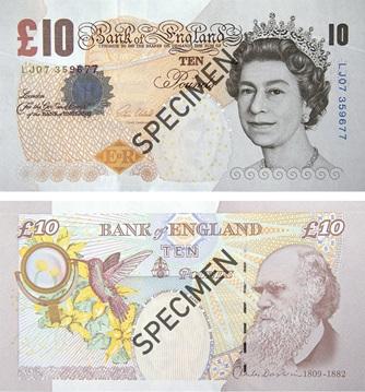 Stare 10 funtów wycofane z obiegu