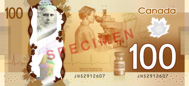 Dolar kanadyjski CAD – waluta Kanady (rewers)