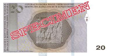 BAM rewers marki zamiennej (waluty Bośni i Hercegowiny)