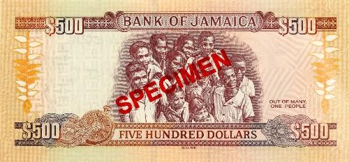 JMD Jamajka waluta – rewers dolara jamajskiego