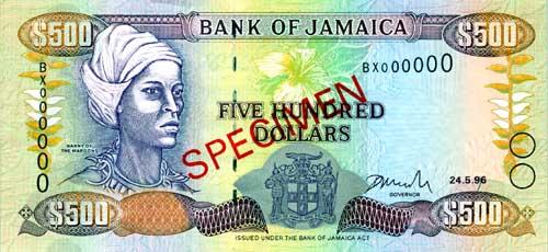 JMD Jamajka waluta – awers dolara jamajskiego