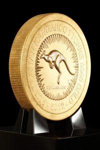 Największa na świecie złota moneta
