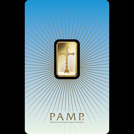 Złoto na prezent ślubny – PAMP Krzyż