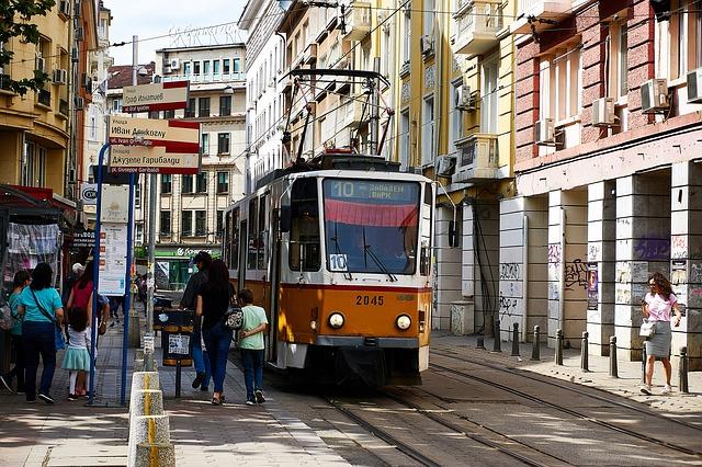 Co warto zobaczyć w Bułgarii – Sofia uliczki