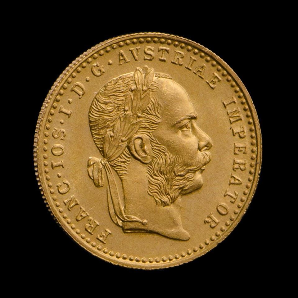Jak inwestować małe kwoty w złoto? Austriacki Dukat w Tavex