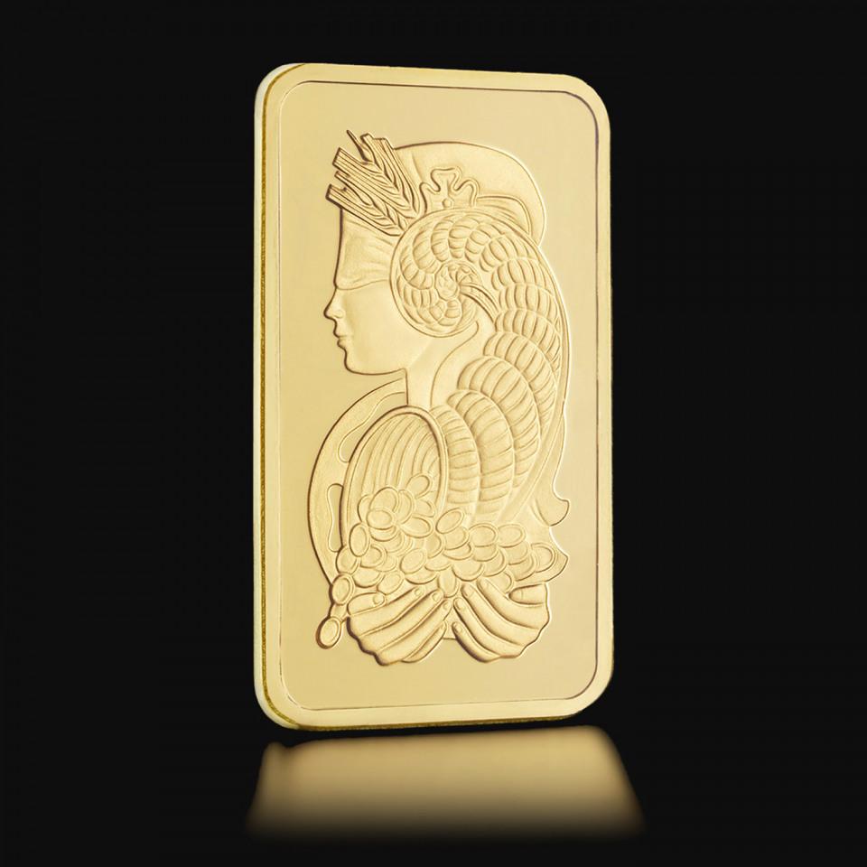 Złota sztabka PAMP Fortuna 1 g – prezent świąteczny